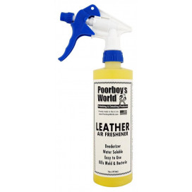 Poorboy's World  Air Freshener Leather 473ml - zapach skóry