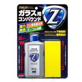 Soft99 Glass Compound Z 100ml - cleaner do szyb