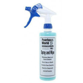 Poorboy's World Spray & Wipe Waterless Wash 473ml - Quick Detailer