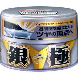 Soft99 Kiwami Extreme Gloss WAX Silver Hard Wax 200 g - wosk z carnauba, wysoki połysk