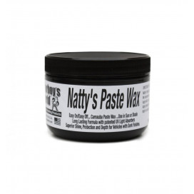 Poorboy's World Natty's Paste Wax Black 227g - wosk do ciemnych lakierów