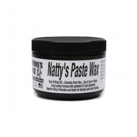 Poorboy's World Natty's Paste Wax Black 227g - wosk do ciemnych lakierów