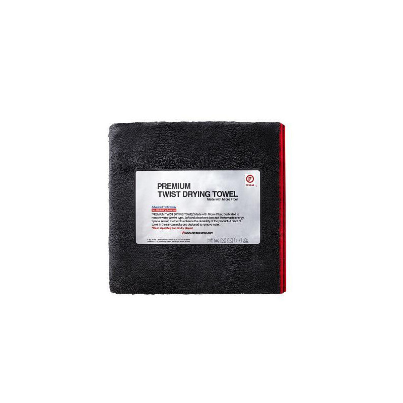 Fireball Black Fox Twist 70x45 cm Drying Towel ręcznik do osuszania