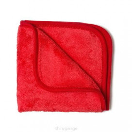 Shiny Garage Red Finisher 40x40 cm Plush Microfiber 600g