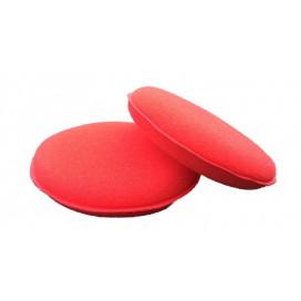 Super Shine Premium aplikator gąbkowy do wosków czerwony