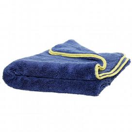 Super Shine Deep Blue Fluffy Dryer 90x60cm - gruby ręcznik do osuszania lakieru