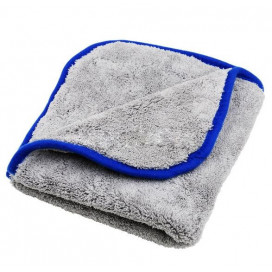 Super Shine Grey Plush Cloth 40x40cm 800g - dwustronnie puszysta mikrofibra