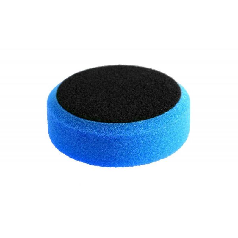 Super Shine Pads Cutting 80mm - niebieska, twarda