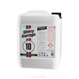 Shiny Garage Yellow Neutral Snow Foam Banana 5L - neutralna piana o zapachu bananowym
