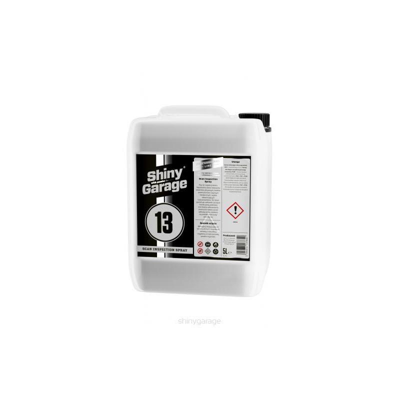Shiny Garage Scan Inspection Spray 5L - płyn do inspekcji lakieru