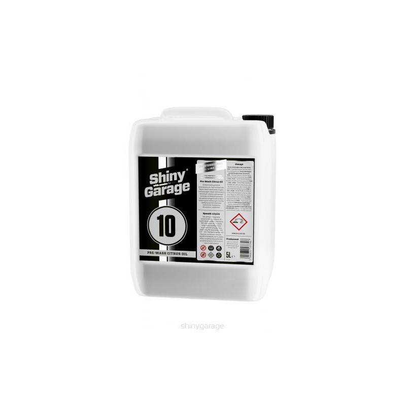 Shiny Garage Pre-Wash Citrus Oil 1L - bezpieczny prewash
