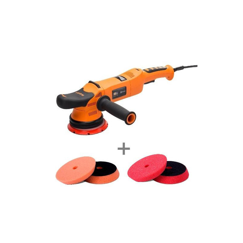 ADBL Roller DA15125-01 maszyna polerska DA skok 15mm + zestaw gąbek Super Shine