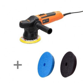 ADBL Roller DA09125-01 maszyna polerska mini DA skok 9mm + zestaw gąbek Super Shine Pads