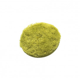 Super Shine NeoHybrid Cut Green Pad 80mm - mocno tnący pad z mikrofibry i naturalnej wełny