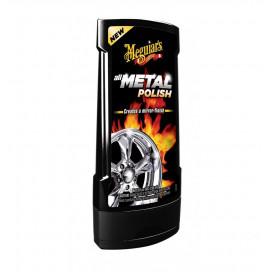 Meguiar's All Metal Polish 227g - polerowanie metalu