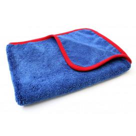 Mikrofibra.PRO Red Soft Fluffy Dryer 90x60cm - delikatny ręcznik do osuszania lakieru