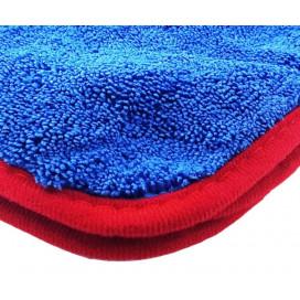 Super Shine Red Soft Fluffy Dryer 90x60cm - delikatny ręcznik do osuszania lakieru