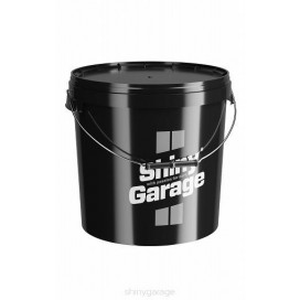 Shiny Garage Czarne wiadro 20L
