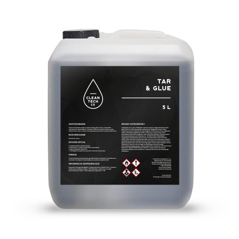 CleanTech Tar & Glue  5L - preparat do usuwania smoły
