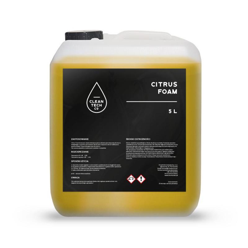 CleanTech Citrus Foam 5L - aktywna piana