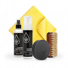 CleanTech Leather Care Kit - zestaw do czyszczenia i pielęgnacji skóry