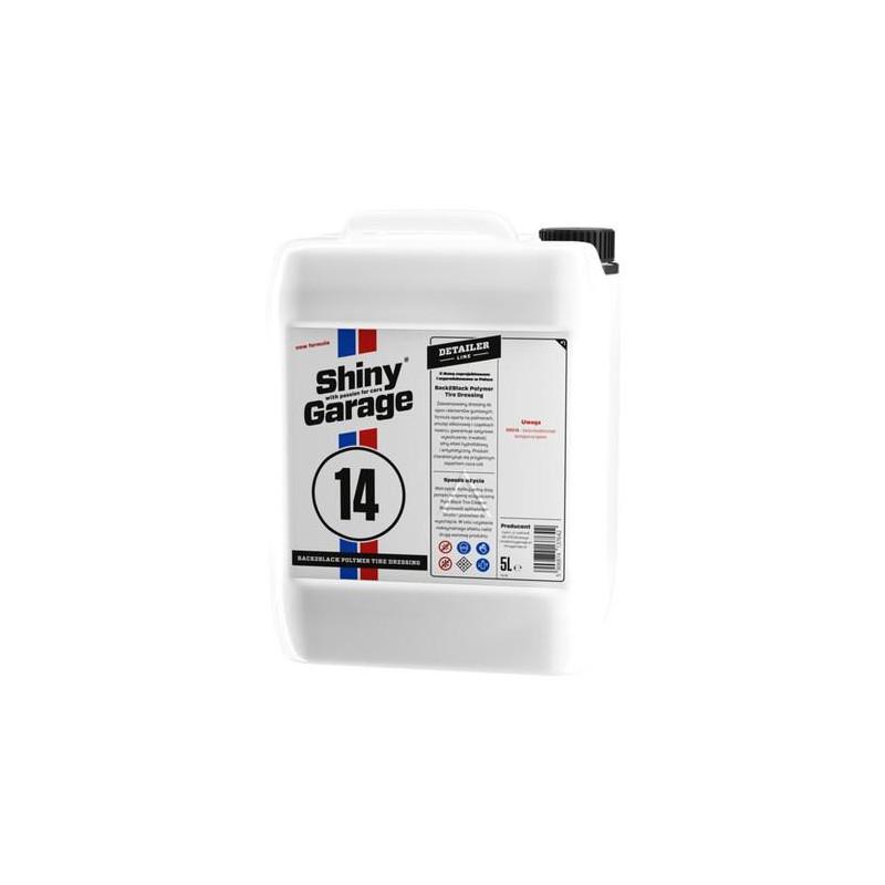 Shiny Garage Back2Black Polymer  5L - konserwacja opon i uszczelek