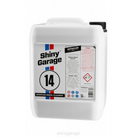 Shiny Garage Monster Wheel Cleaner Plus Gel 5L - krwawiący preparat do mycia felg.