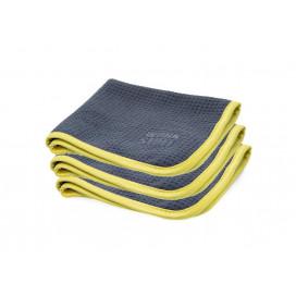 Work Stuff Zephyr Waffle Towel 35x35cm 3-pack - mikrofibry waflowe do szyb