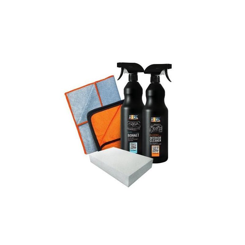 ADBL Bonnet 1L+ ADBL Interior Cleaner 1L - zestaw do wnętrza