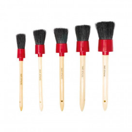 Sam's Detailing Brush Set - zestaw pędzelków detailingowych