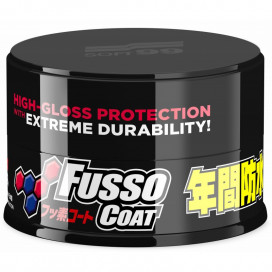 Soft99 New Fusso Coat 12 Months Wax Dark - nowa formuła
