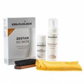 Colourlock Strong zestaw do czyszczenia i zabezpieczenia skóry STRONG CLEANER