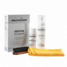 Colourlock Soft zestaw do czyszczenia i zabezpieczenia skóry SOFT CLEANER