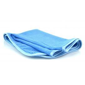 Mikrofibra.Pro Blue Lagoon 60x80cm - ręcznik waflowy