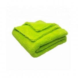 Super Shine Green 40x40cm puszyta mikrofibra - idealna do ścierania powłok