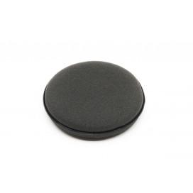 Mikrofibra.Pro Black Wax Aplikator gąbkowy do wosków 10 cm