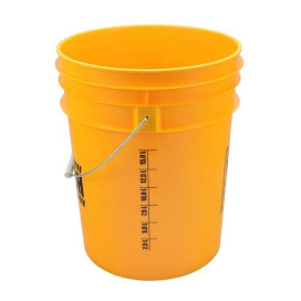 Work Stuff Yellow Bucket WASH 20L HDPE wiadro