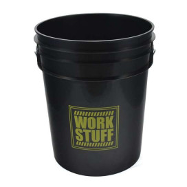 Work Stuff Yellow Bucket RINSE 20L HDPE wiadro / czarne