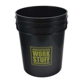 Work Stuff Yellow Bucket RINSE 20L HDPE wiadro / czarne