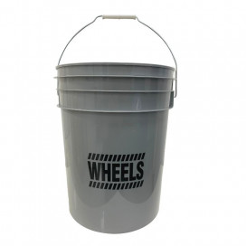 Work Stuff Grey Bucket WHEELS 20L HDPE wiadro / szare