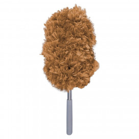 "Prostaff Interior duster mop ""Poodle-no-shippo"" Brown - do kurzu"