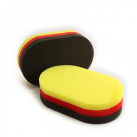 SmartWax Aplikator gąbkowy 3 kolorowy