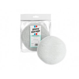 Shiny Garage White Pocket Micorfiber Applicator 13cm