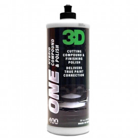 3D Car Care One Hybrid Compound & Polish 946ml - pasta one step