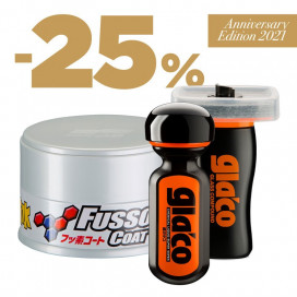 Soft99 Protection Set Light - Fusso 12M, Ultra Glaco, Glaco Compound Gratis