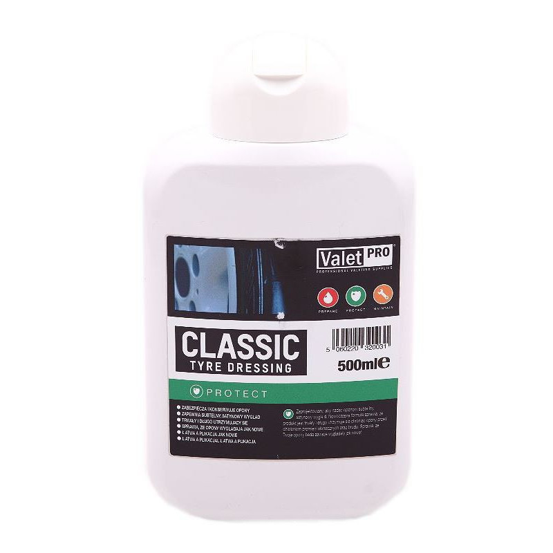 ValetPRO Classic Tyre Dressing 500 ml - dressing do opon