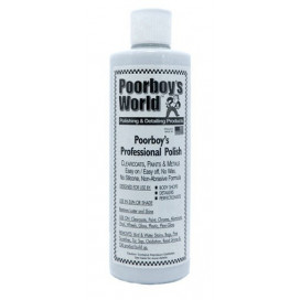 Poorboy's World Proffesional Polish 473ml - cleaner lekko ścierny