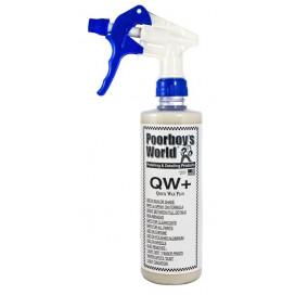 Poorboy's World Quick Wax Plus (QW+) 473ml - wosk w sprayu