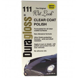 Duragloss 111 Clear Coat Polish 237ml - sealant, ochrona lakieru