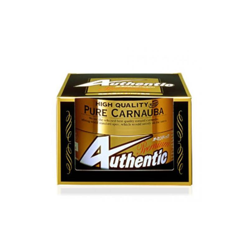 Soft99 Authentic Premium Car Wax 200g - wosk z dużą zawartością carnauby